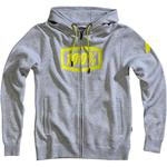100% Syndicate Hoodie (Heather Gray)