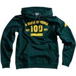 100% Tribute Hoodie (Emerald Green)