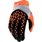 100% Airmatic Gloves (Orange / Black)