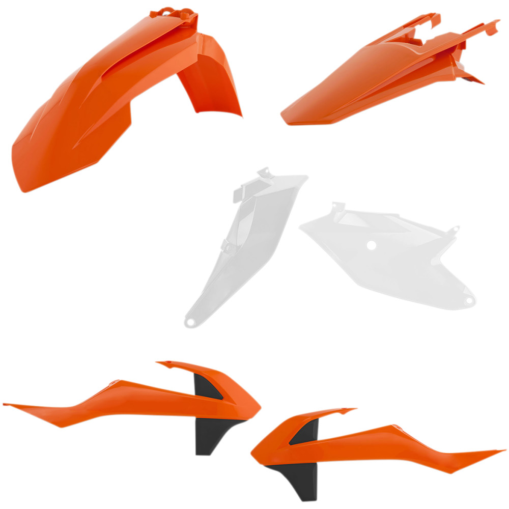 Acerbis Plastic Body Kit - OE '20 Orange/White/Black - SX85