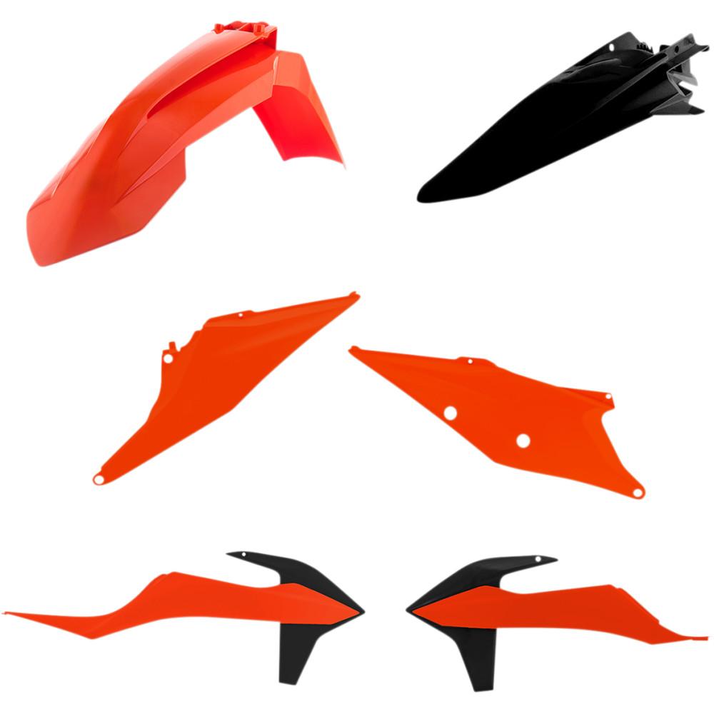 Acerbis Plastic Body Kit - OE '20 Orange/Black