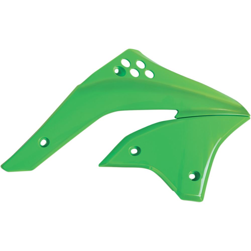 Acerbis Radiator Shrouds - KX 03 - Green
