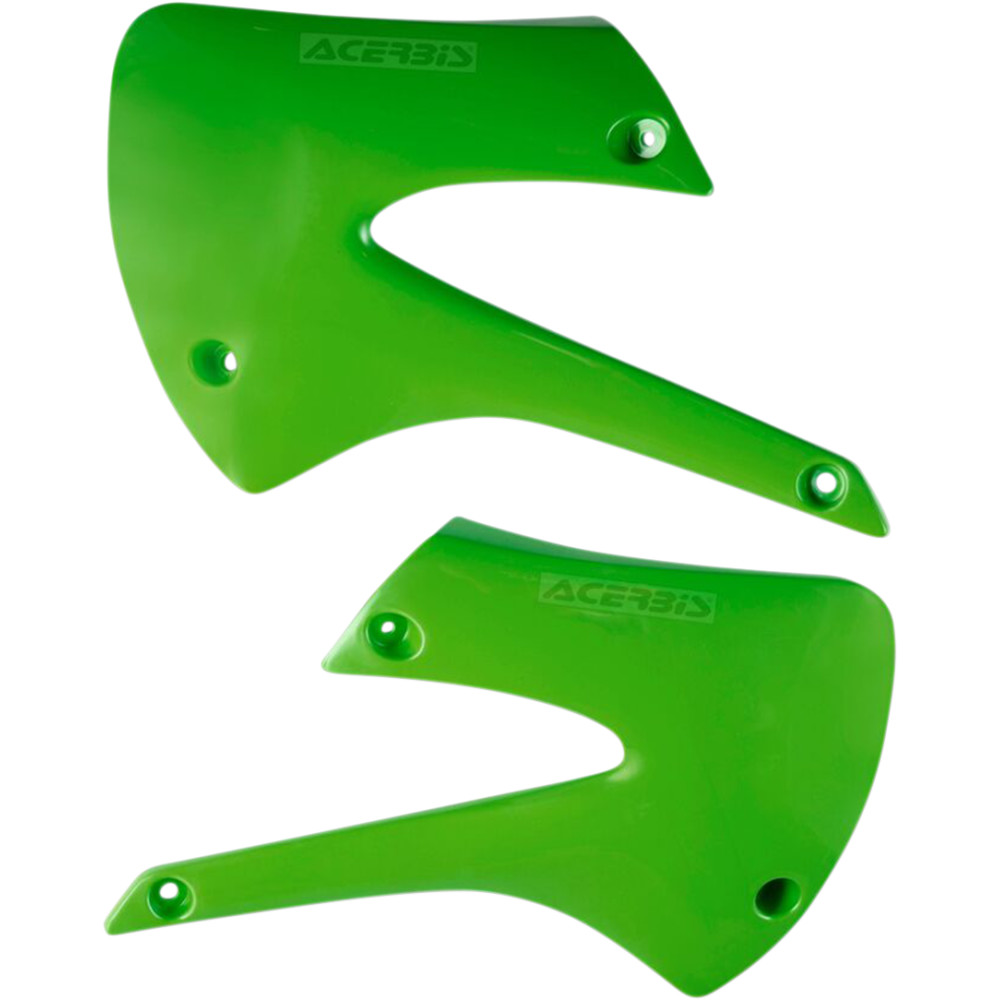 Acerbis Radiator Shrouds - '01 KX 85 - Green