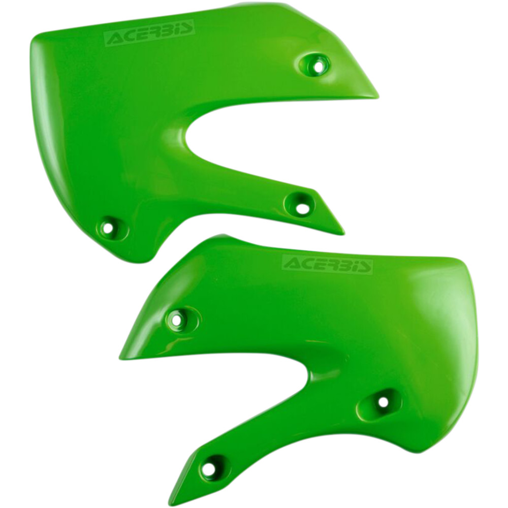 Acerbis Radiator Shrouds - KX 65 - Green