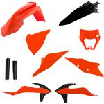 Acerbis Plastic Body Kit - OE '20 Orange/Black