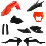 Acerbis Plastic Body Kit - OE '16 Orange/Black