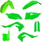 Acerbis Full Replacement Body Kit - Fluorescent Green
