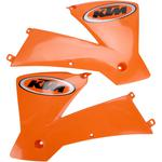 Acerbis Radiator Shrouds - '01 KTM - SX Orange