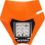 Acerbis VSL Headlight - Orange