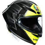 AGV Pista GP RR Helmet (Essenza 46 - Gloss Carbon / Yellow)