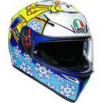 AGV K3 SV Helmet (Rossi Winter Test - Gloss Multi)