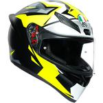AGV K1 Helmet (Mir 2018 - Gloss Multi / Yellow)