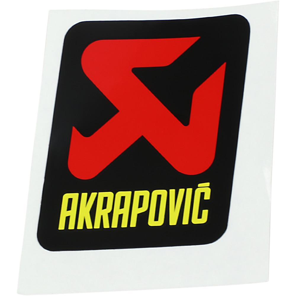 Akrapovic Replacement Sticker