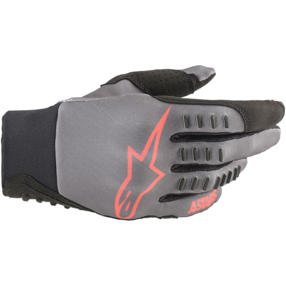 Alpinestars SMX-E Gloves (Gray / Red)