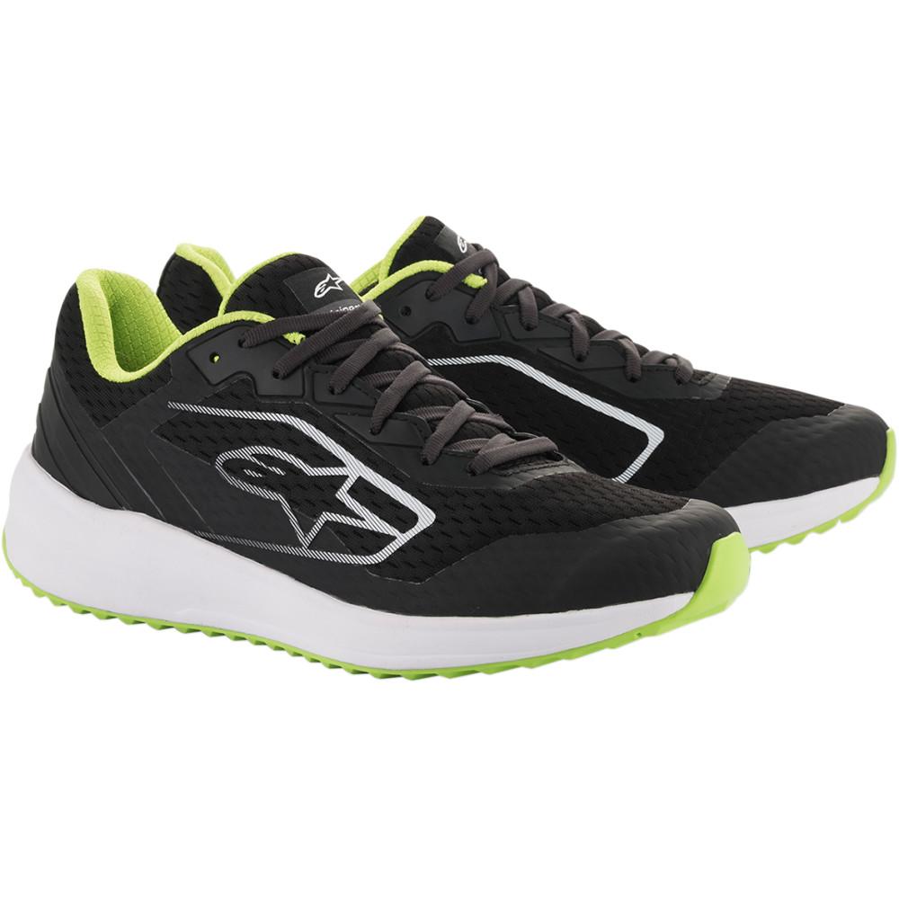 Alpinestars Meta Road Shoes (Black / White / Green)