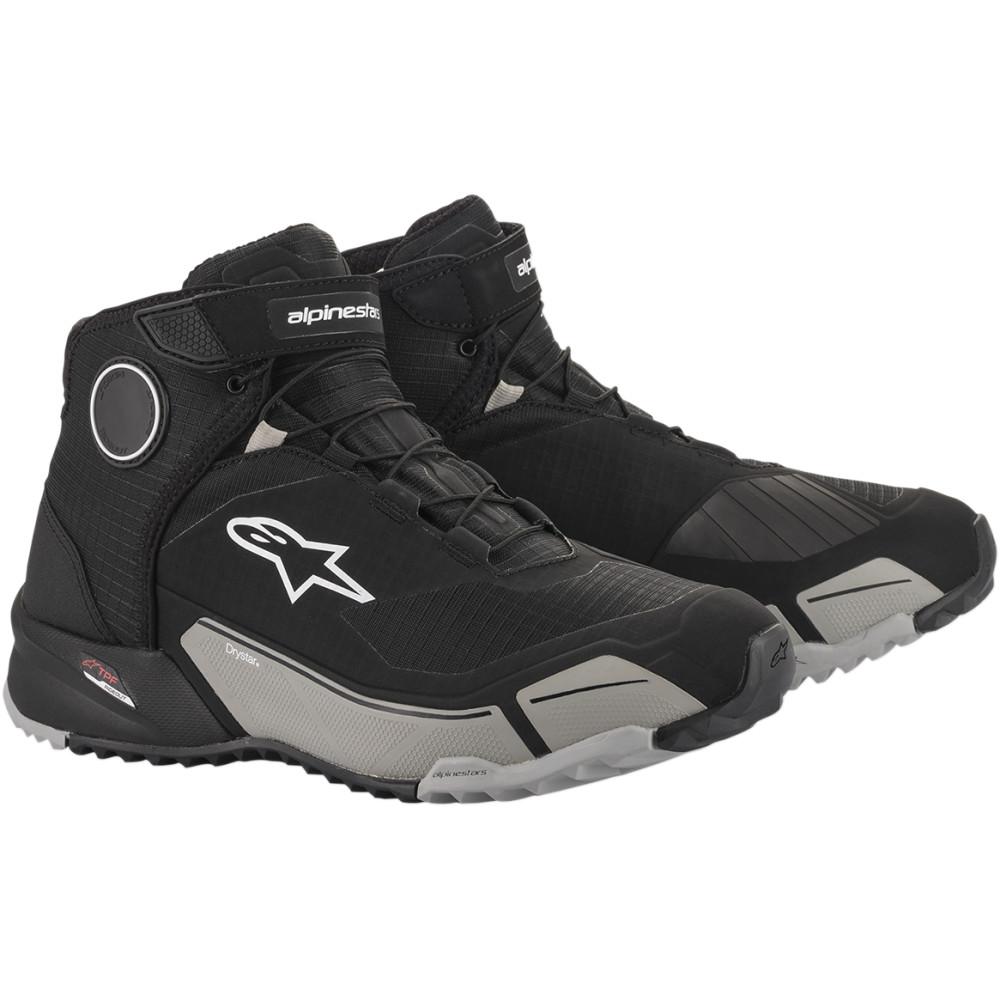 Alpinestars CR-X DRYSTAR® Riding Shoes (Black / Cool Gray)