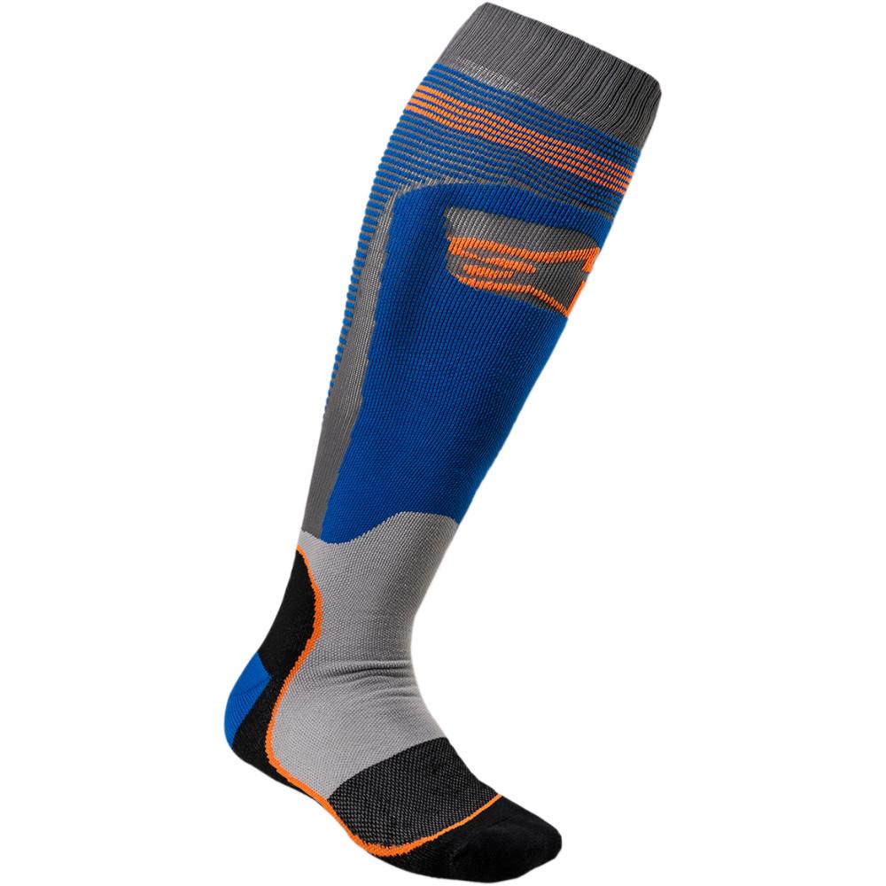 Alpinestars MX Plus 1 Socks (Blue / Orange)