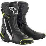 Alpinestars SMX Plus Boots (Black / White / Yellow Fluo)