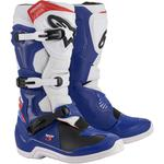 Alpinestars Tech 3 Boots (Blue / White / Red)