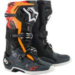 Alpinestars Tech 10 Boots (Black / Gray / Orange)