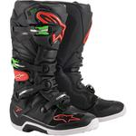 Alpinestars Tech 7 Boots (Black / Red / Green)