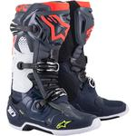 Alpinestars Tech 10 Boots (Gray / Blue / Red)