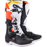 Alpinestars Tech 3 Boots (Black / White / Red / Yellow)