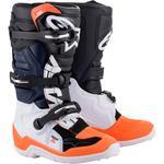 Alpinestars Youth Tech 7S Boots (Black / Orange)