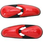 Alpinestars Flexible Toe Sliders for Supertech Boots (Red)