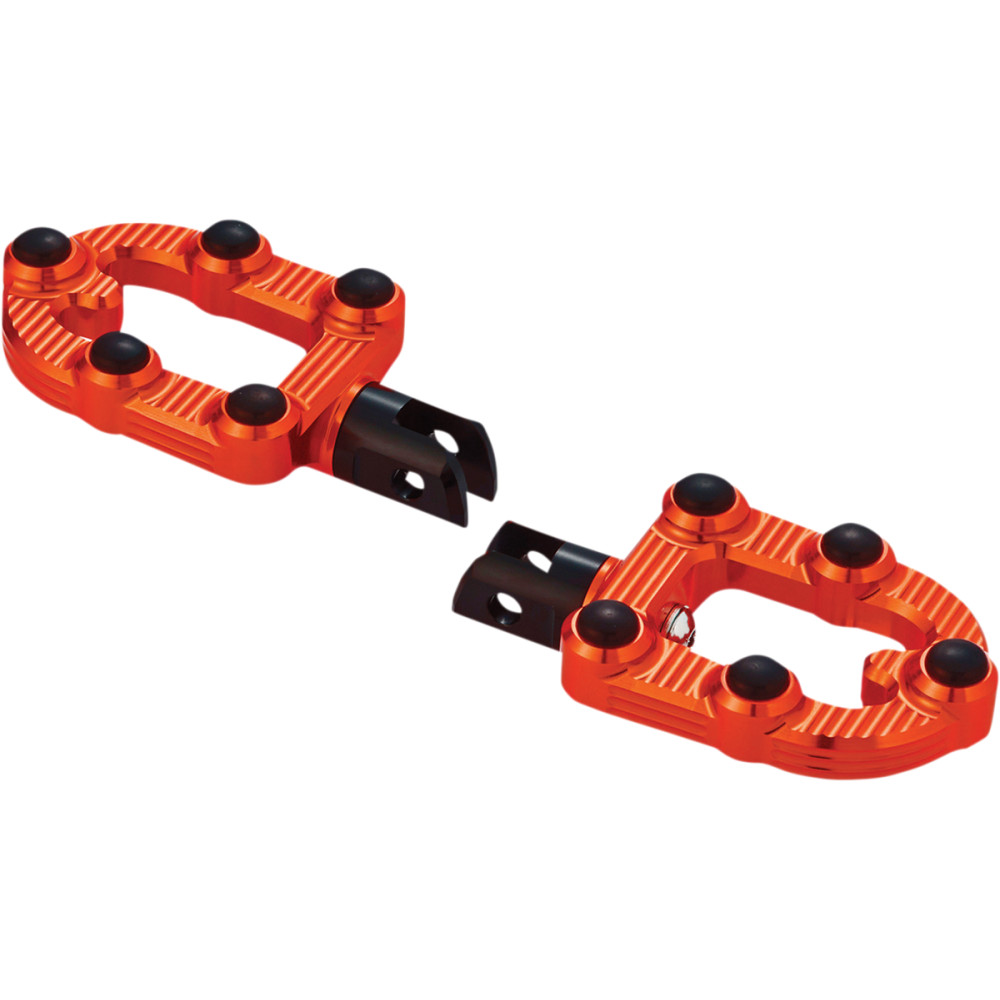 Arlen Ness MX Driver Foot Peg - Orange