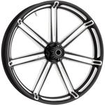 Arlen Ness Front Wheel - 7-Valve - Black - 21 x 3.5 - With ABS