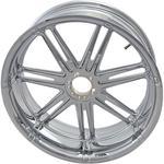 Arlen Ness 7 Valve Wheel Rim - 7 Spoke - Chrome - 17 x 6.25