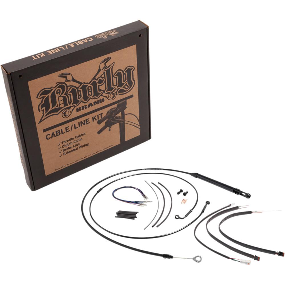 Burly Brand Black Control Kit for 16