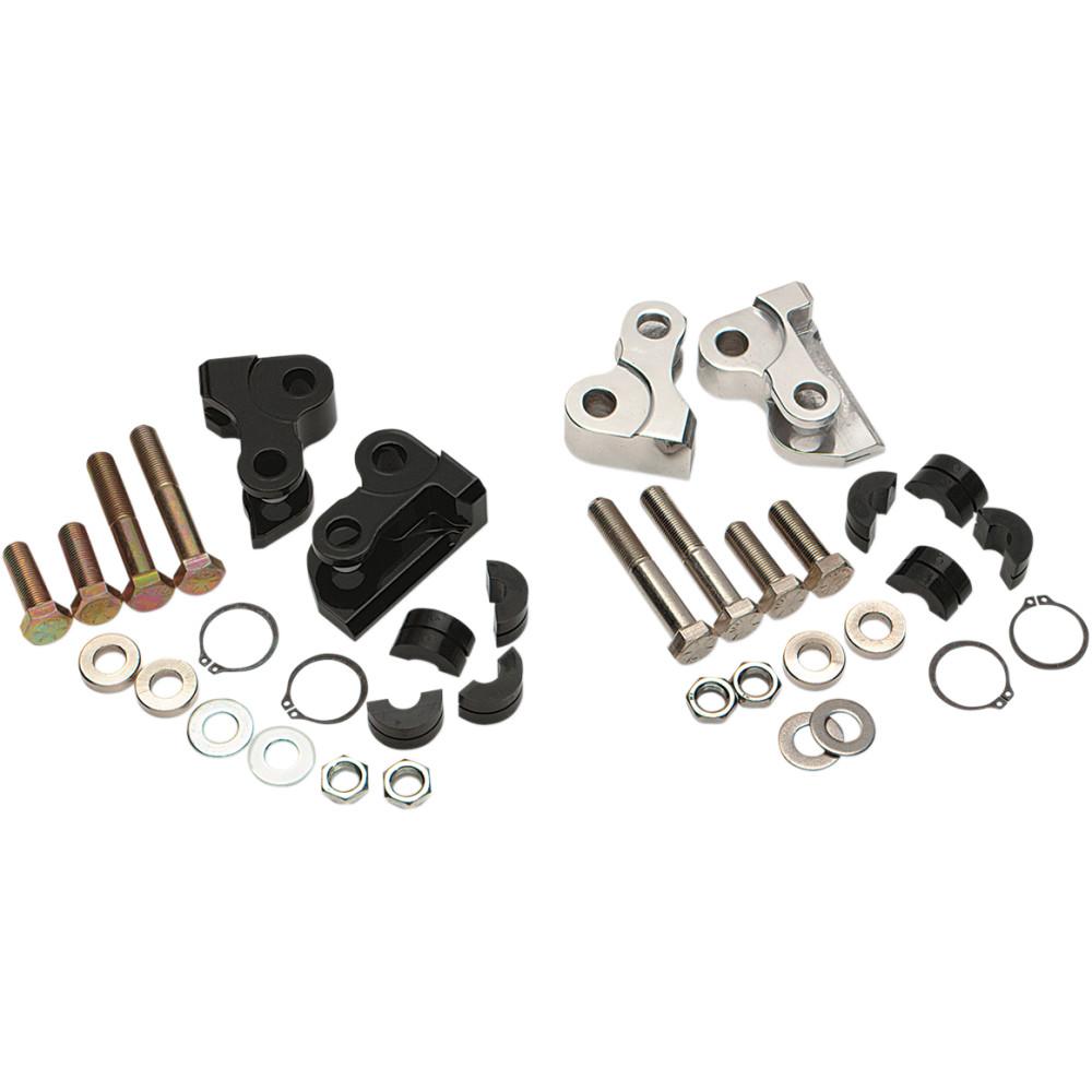 Burly Brand Rear Lowering Kit - Black - Lowers 1