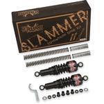Burly Brand Suspension Kit - Slammer - Chrome - '88 - '03 XL