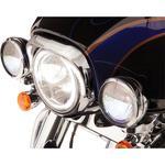 Ciro Headlight Bezel - Chrome