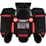 Ciro Bag Light Blades - with Controller - Amber Turn Signals