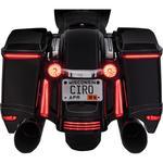 Ciro Bag Light Blades - Red Turn Signals