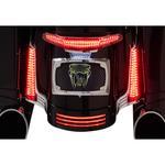 Ciro Filler Panel LED Lights - Chrome/Red