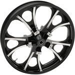 Coastal Moto Front Wheel - Largo - Black - 21 x 3.5 - No ABS - 08+ FL