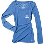 Factory Effex Yamaha Tuning Fork Long Sleeve T-Shirt (Royal Blue)