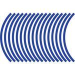 Flu Designs Wheel Decal - Blue