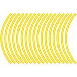 Flu Designs Wheel Decal - Yellow