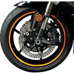 Flu Designs Wheel Decal - Fluorescent Orange