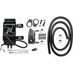 Jagg Oil Coolers Oil Cooler Kit - Vertical Frame-Mount - Fan-Assisted