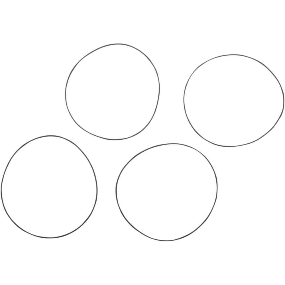 James Gasket Piston Liner O-Ring - 4 Pack