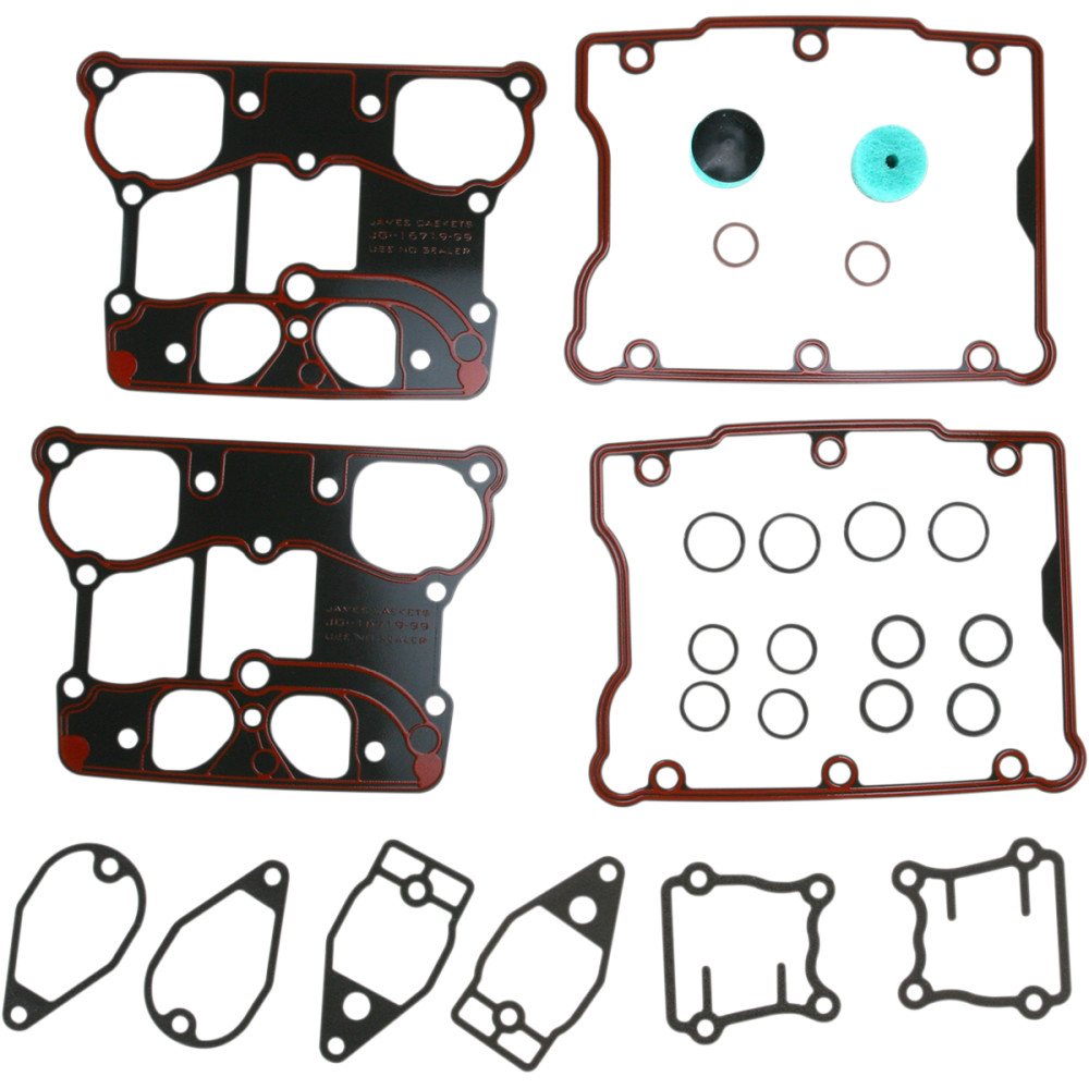 James Gasket Rocker Cover Gasket Kit - Twin Cam
