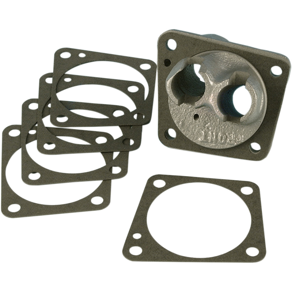 James Gasket Front Tappet Block Gasket Big Twin - 10 Pack