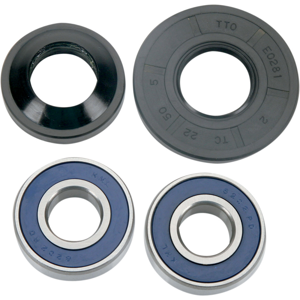 Moose Racing Wheel Bearing Kit - Double Lip - Front
