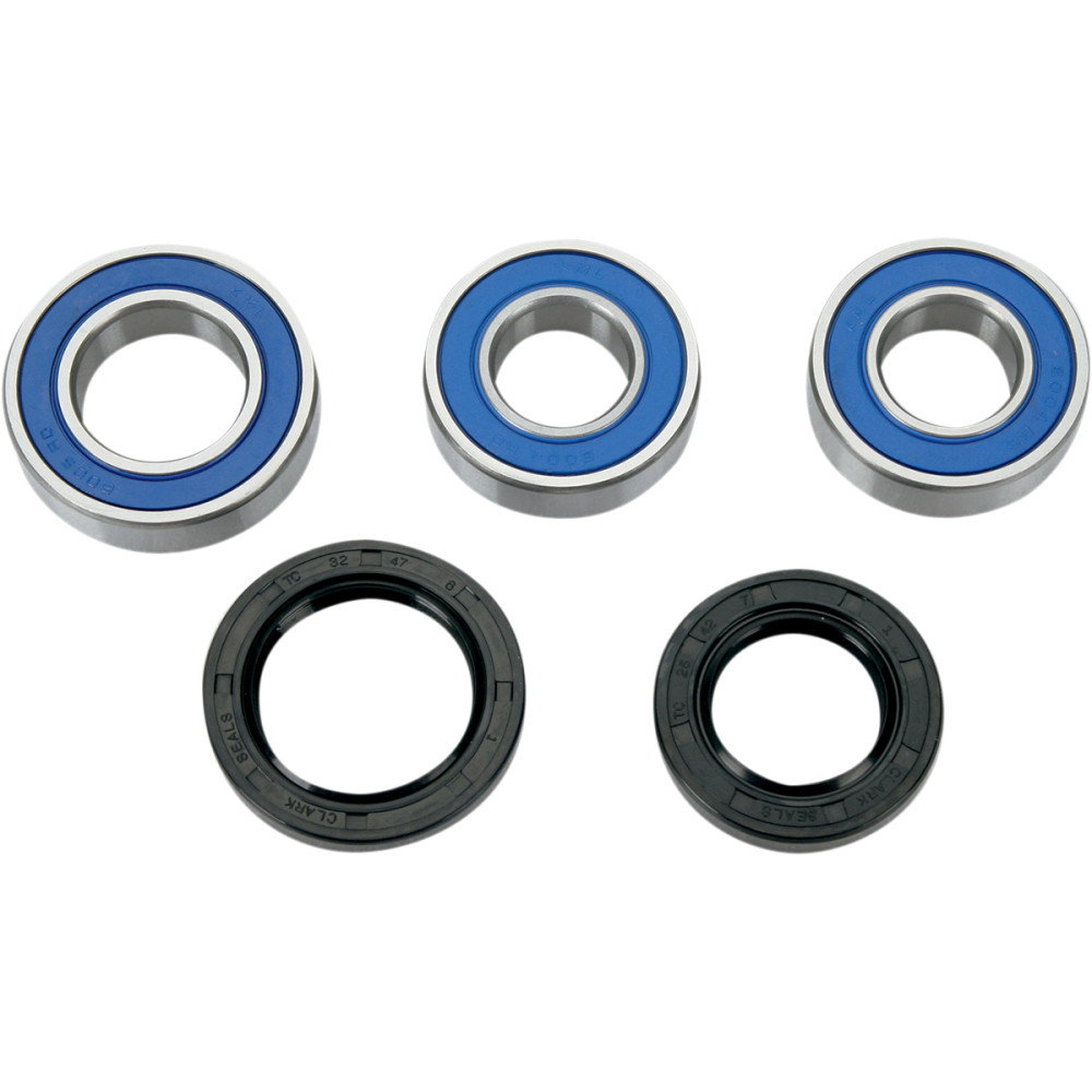Moose Racing Wheel Bearing Kit - Double Lip - Rear - Gas Gas